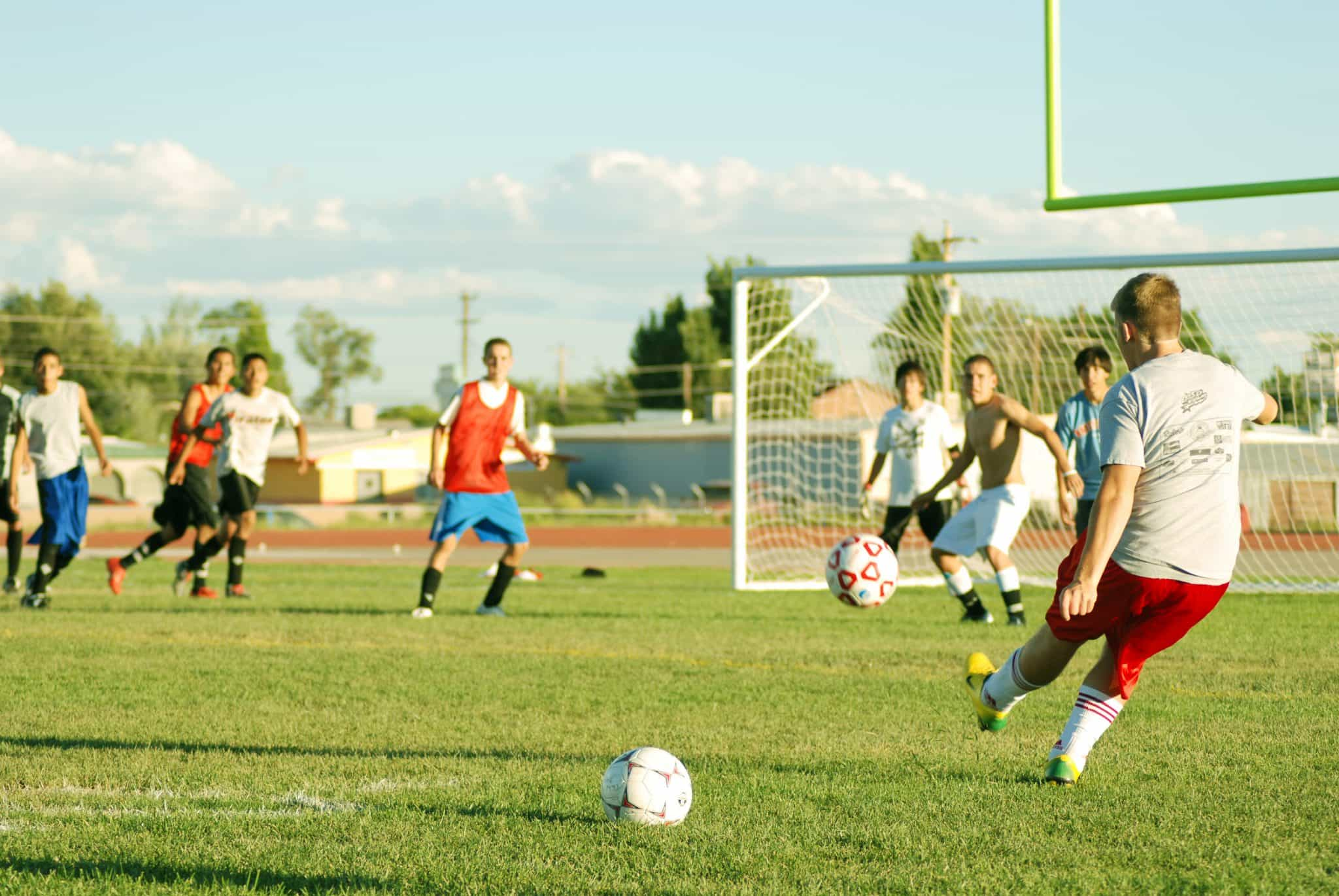 How to Kick a Free Kick in Soccer